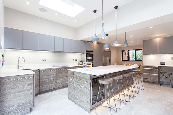 Loft Conversion with bespoke kitchen, Mill Hill, North London