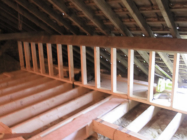 Loft Conversion Construction Stages